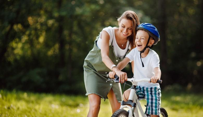 Pierwszy rower dla chłopca