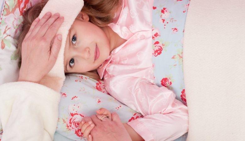 obniżenie gorączki u dziecka