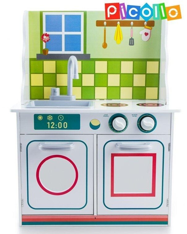 Kuchnia dla dzieci zabawkowa z drewna